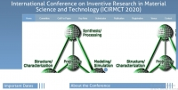 Scopus-Indexed AIP International Conference on Inventive Research in Material Science and Technology