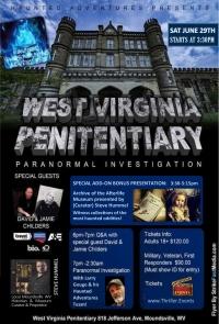 Overnight Paranormal Investigation @ WVA Penitentiary