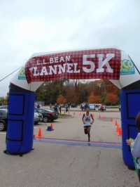 LL Bean Flannel 5k - September 2019, Burlington, VT