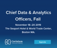 Chief Data and Analytics Officers, Fall - Boston, November 18-20, 2019