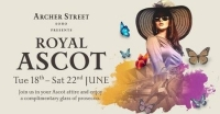 Royal Ascot at Archer Street
