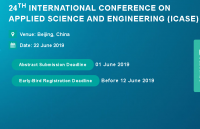 24th International Conference on Applied Science and Engineering (ICASE)