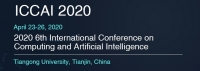 2020 6th International Conference on Computing and Artificial Intelligence (ICCAI 2020)