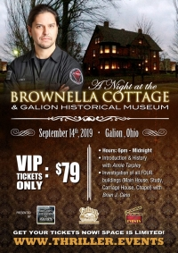 Ghost Hunt Brownella Cottage with Brian Cano