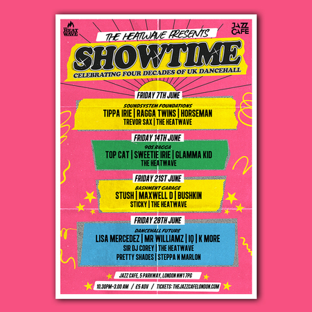 The Heatwave presents: Showtime - Four Decades of UK Dancehall -