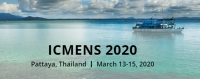 2020 4th International Conference on Materials Engineering and Nano Sciences (ICMENS 2020)