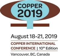 COM 2019 hosting Copper 2019 August 18-21, Vancouver, Canada