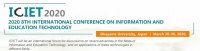 2020 8th International Conference on Information and Education Technology (ICIET 2020)