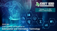 2020 9th International Conference on Educational and Information Technology (ICEIT 2020)