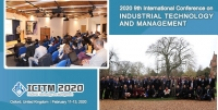 2020 9th International Conference on Industrial Technology and Management (ICITM 2020)