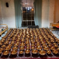 222 Tibetan Healing Bowls, Essential Oils & Chocolate in Atlanta, GA