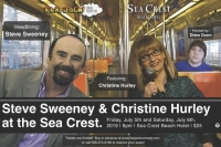 Steve Sweeney & Christine Hurley at the Sea Crest