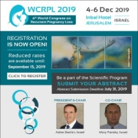 4th World Congress on Recurrent Pregnancy Loss (WCRPL 2019)