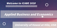 2020 The 2nd International Conference on Applied Business and Economics (ICABE 2020)