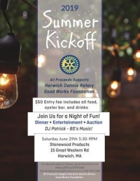 Rotary Club of Harwich-Dennis Summer Kickoff Party