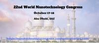 22nd World Nanotechnology Congress
