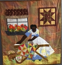 Sisters in Stitches Joined by the Cloth Quilters at St. John's, July 20