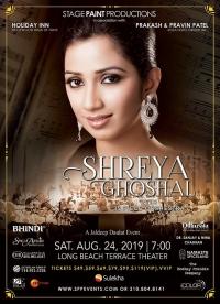 Shreya Ghoshal Live Concert 2019 Los Angeles