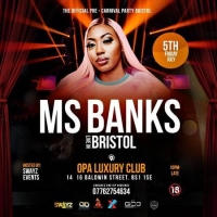 Ms Banks Live In Bristol {Pre Carnival Party}