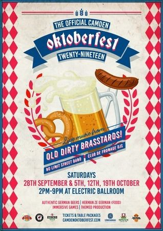 The Official Camden Oktoberfest - One of London's largest celebrations, London, United Kingdom