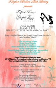 Tropical Breeze Gospel Brunch