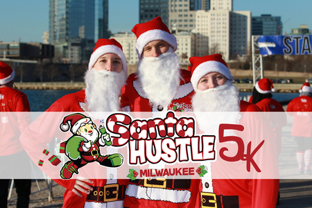 Santa Hustle 5k and Kids Dash Milwaukee, Milwaukee, Wisconsin, United States