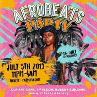 Afrobeats Party x Bussey Building