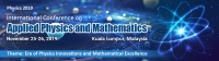 International Conference on Applied Physics and Mathematics 2019