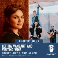 Letitia VanSant and Visiting Wine