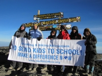 Meaningful Travel Events To Mount Kilimanjaro to Support Impoverished Children