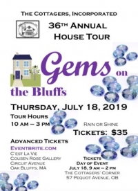 """""""Gems On The Bluffs"""" , The Cottagers, Inc. 36th Annual House Tour"""