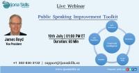 Public Speaking Improvement Toolkit