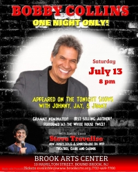 Comedian Bobby Collins - One Night Only!