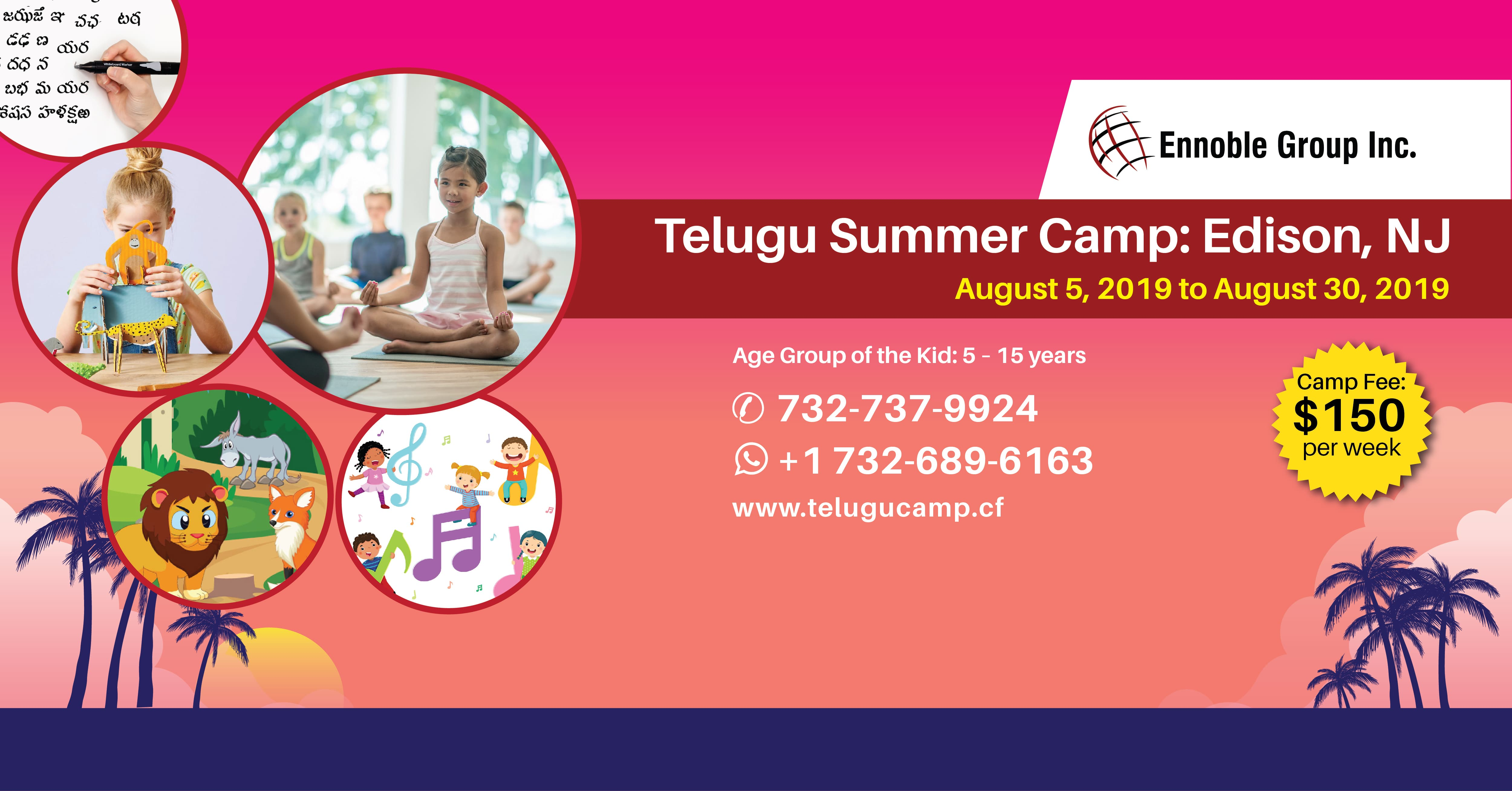 Telugu Summer Camp, Middlesex, New Jersey, United States