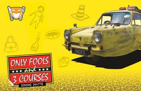 Only Fools and 3 Courses - Mercure Bristol North The Grange 20th Sept, Winterbourne, United Kingdom