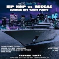 NYC Hip Hop vs. Reggae Summer Yacht Party Cruise 2019