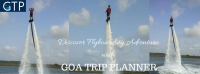 Flyboarding in Goa with Goa Trip Planner