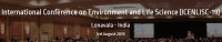 International Conference on Environment and Life Science (ICENLISC-19)