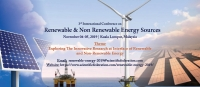 3rd  Global  International Conference On  Renewable & Non Renewable Energy  Sources