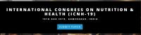 International Congress on Nutrition & Health (ICNH-19)