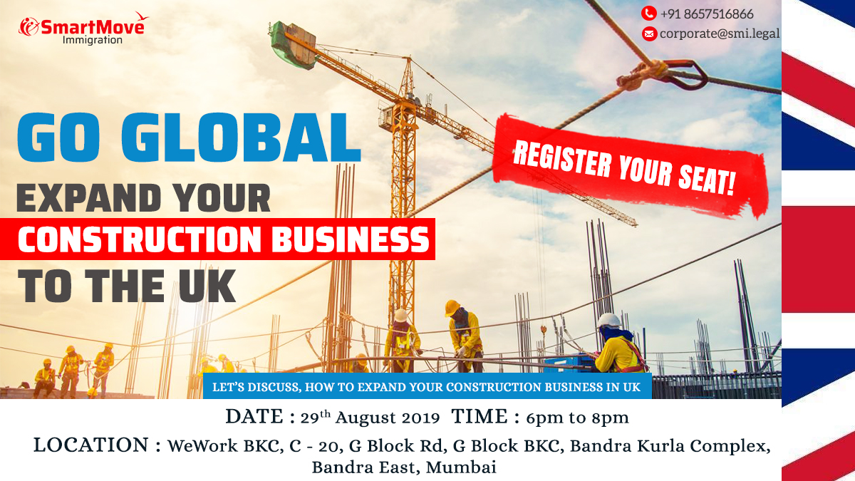 Go Global - Expand your Construction Business to the UK with