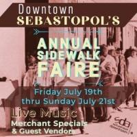 Sebastopol 58th Annual Sidewalk Faire
