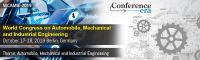 World Congress on Automobile, Mechanical and Industrial Engineering
