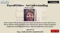Payroll Ethics-an Understanding