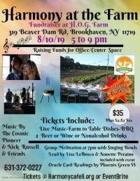 """Harmony at the Farm"" Fundraiser BBQ"
