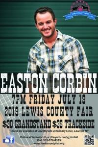 Easton Corbin at the Lewis County Fair