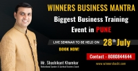 Business Training Event in Pune by Shashikant Khamkar.