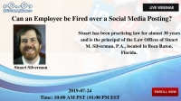 Can an Employee be Fired over a Social Media Posting?