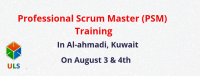 Professional Scrum Master (PSM) Certification Training Course in Al ahmadi, Kuwait