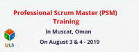 Professional Scrum Master (PSM) Certification Training Course in Muscat, Oman